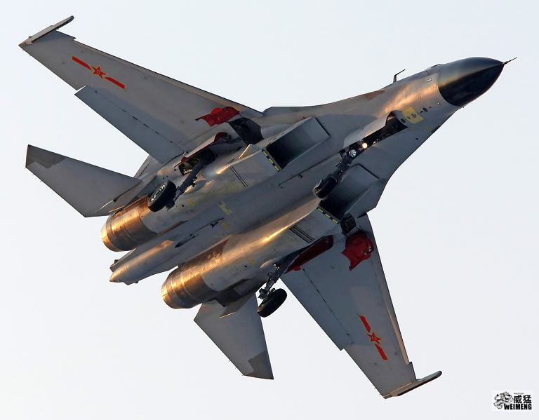 New build Shenyang J-11B J 11