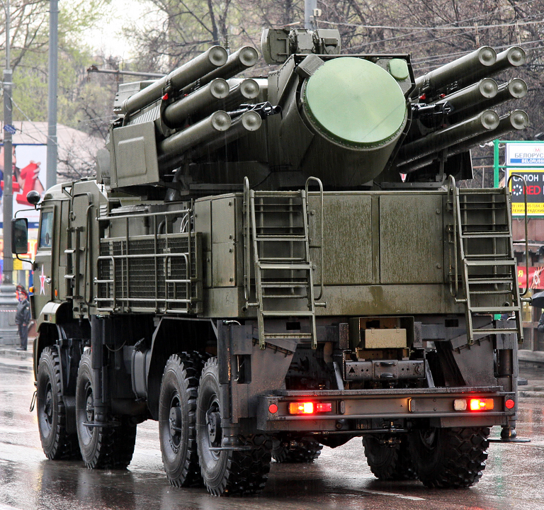 OUR PICTORIAL PAGE  - Page 2 96K6-Pantsir-S1-KAMAZ-Moscow-2011-V.Kuzmin-2S