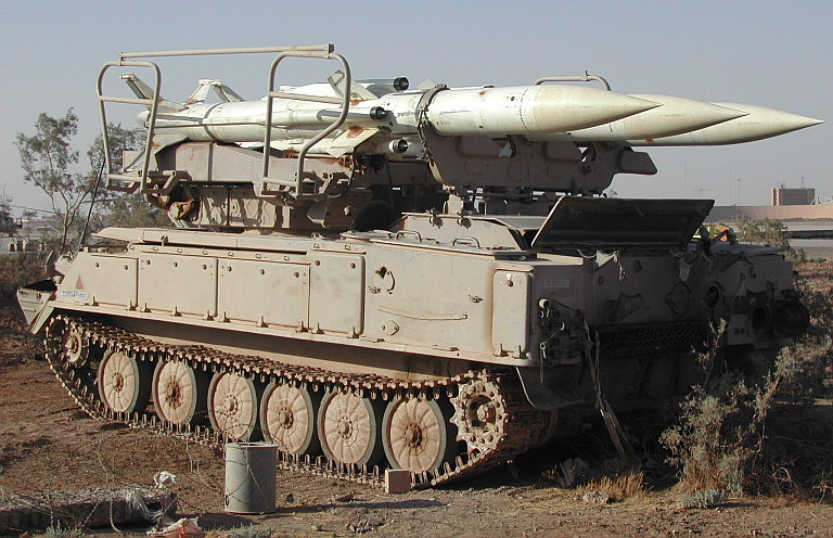 SA-6 Gainful 2K12 Kub Ground-to-air missile system technical data ...