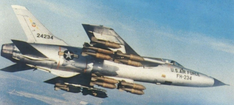 F-105D thunderchief over Vietnam