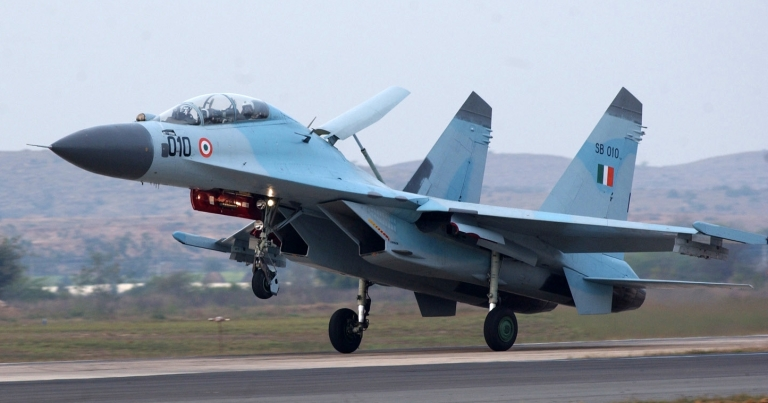 Indian AF Su-30K during Cope India Exercise