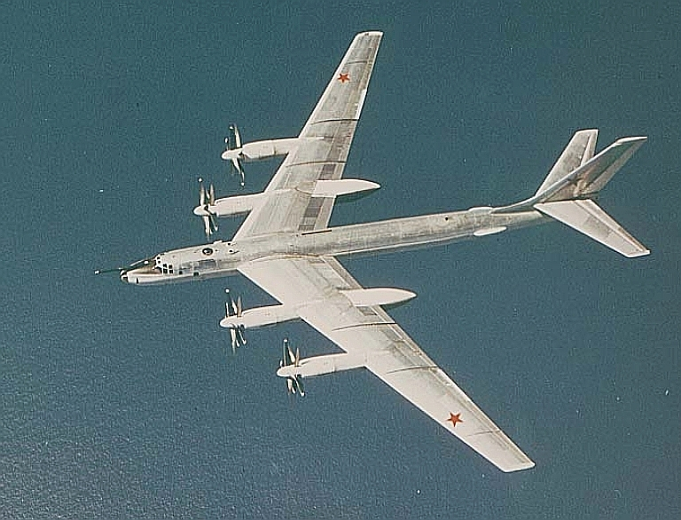 Tupolev Tu 95 And Tu 142 Bear